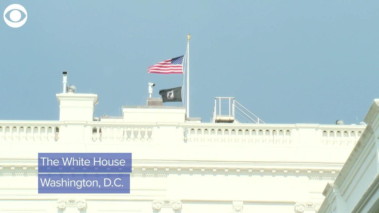 WEB EXTRA: White House Flag Ordered Half-Staff For Victims Of San Jose Shooting