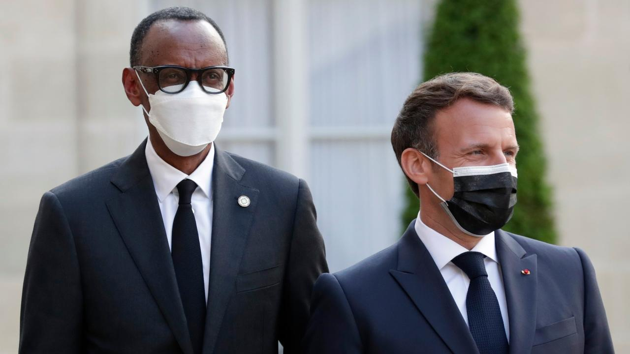France's Macron heads to Rwanda to reset ties, address role in 1994 genocide.