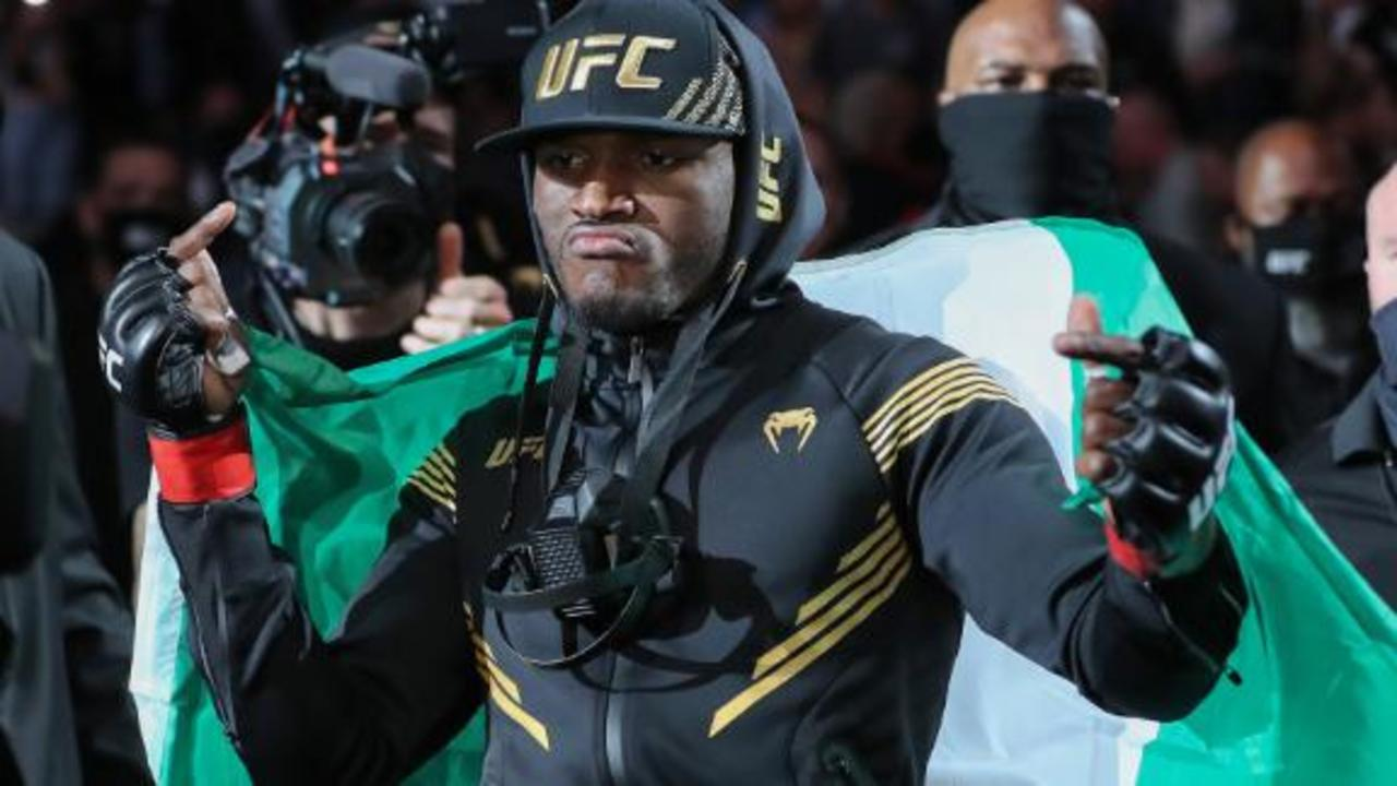 Kamaru Usman: 'Being born in a place like Nigeria helped mold me into the man I am'