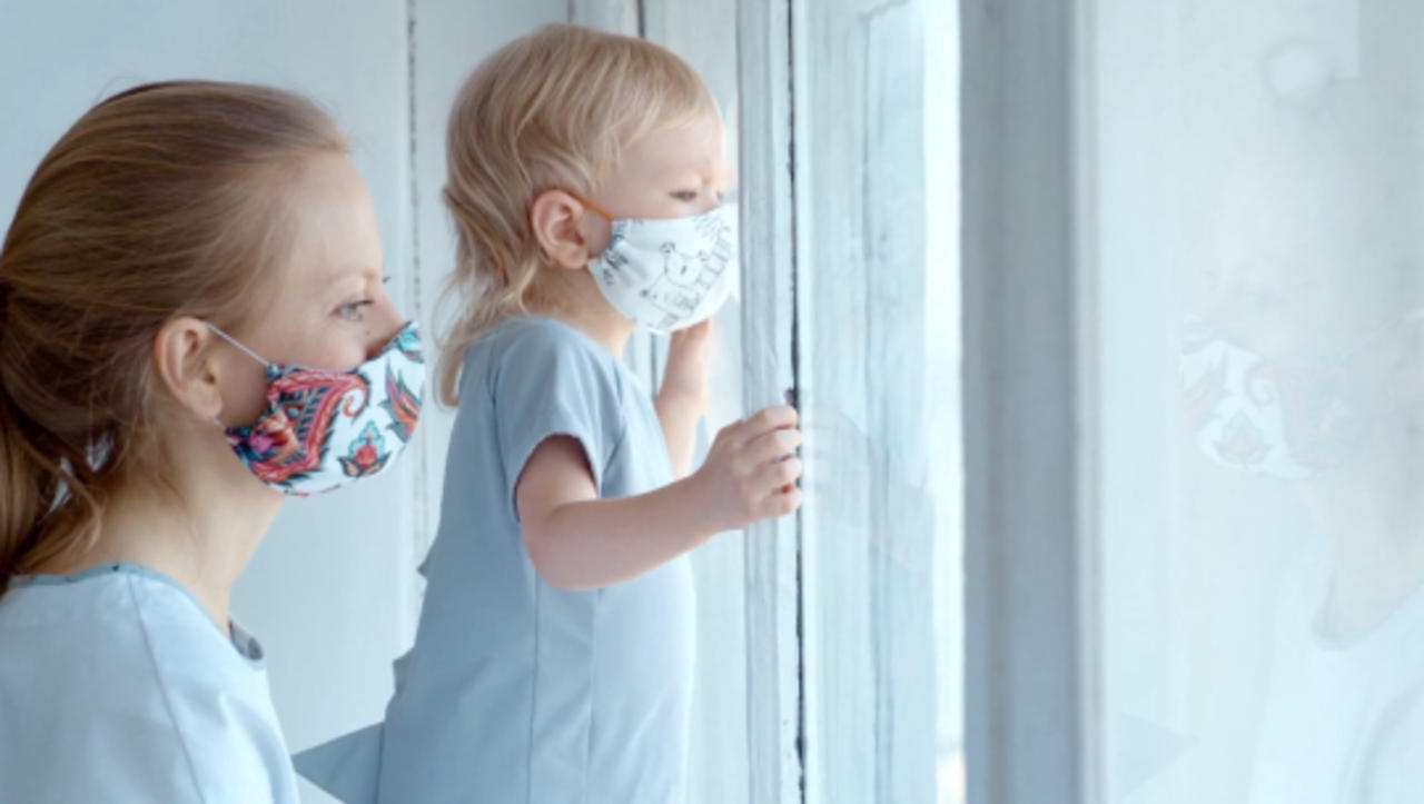 Masked Concerns for Young Children Too Young for Vaccinations