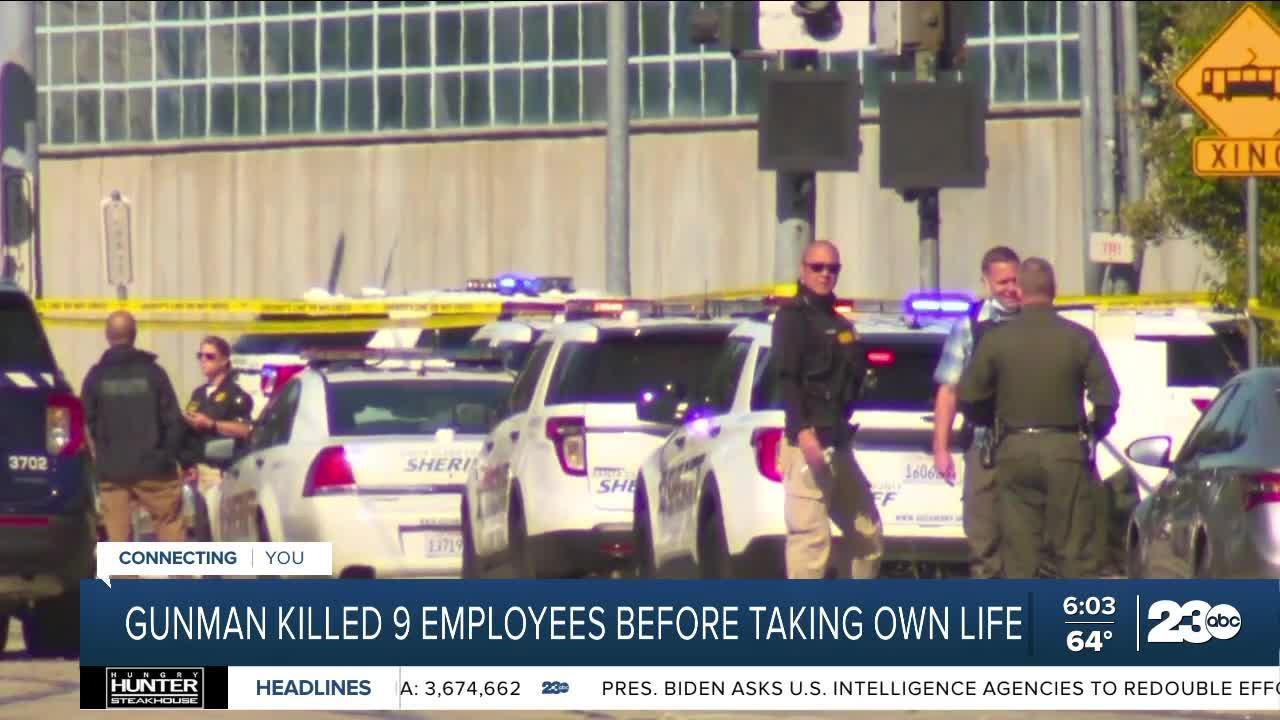 Gunman kills 9 people in San Jose before taking his own life