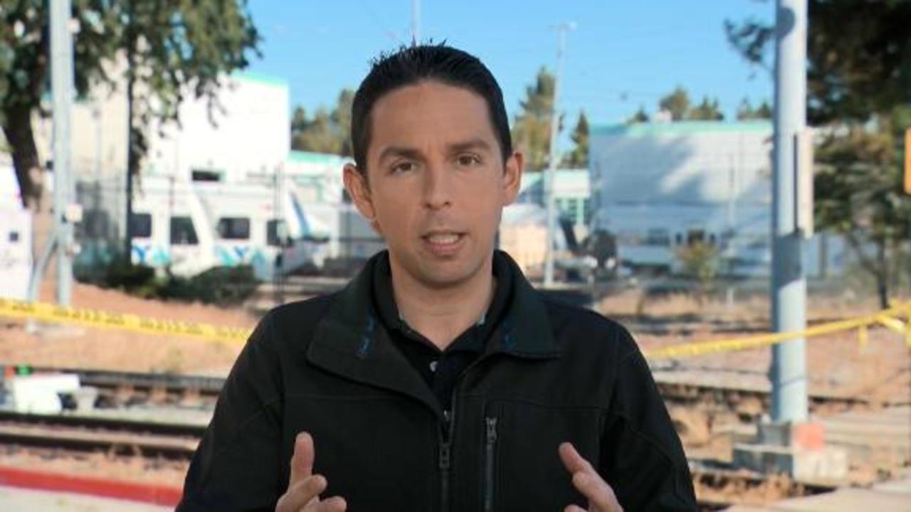 Nine people dead after gunman opens fire at public transit yard in San Jose