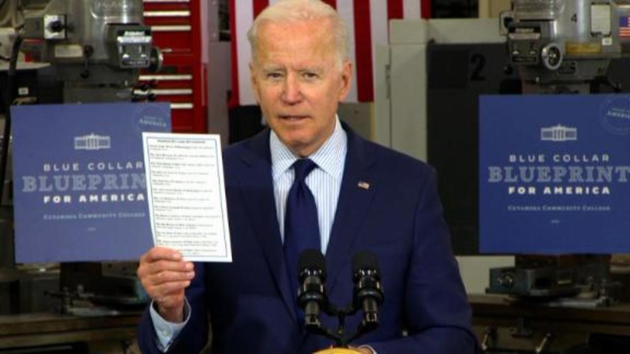 'Some people have no shame': Biden calls out GOP lawmakers with list