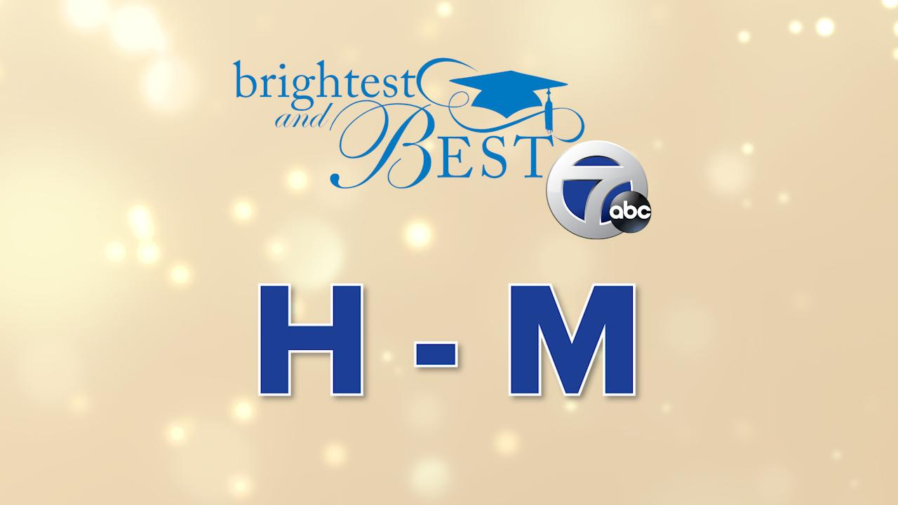 Meet the 2021 Brightest and Best – Last names H-M