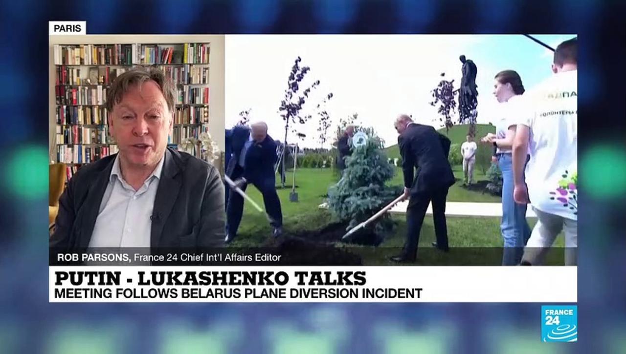 Putin - Lukashenko meeting: Meeting follows Belarus plane diversion
