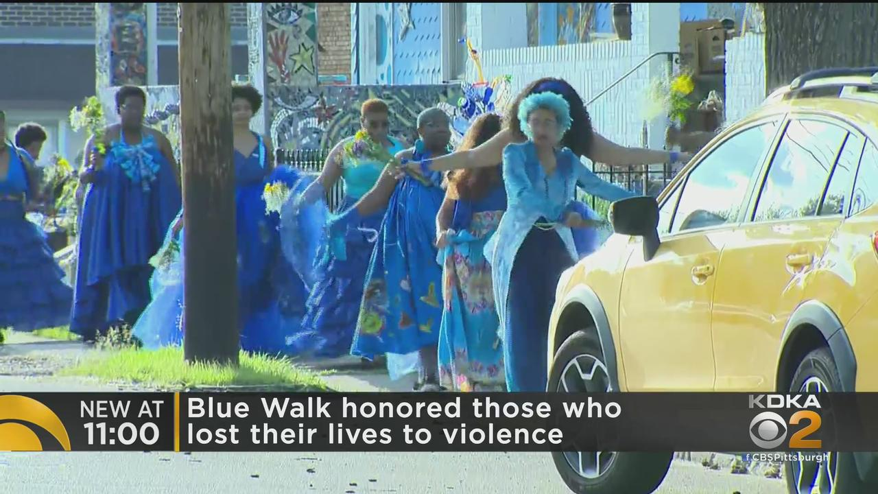 Blue Walk Honors Lives Lost To Violence
