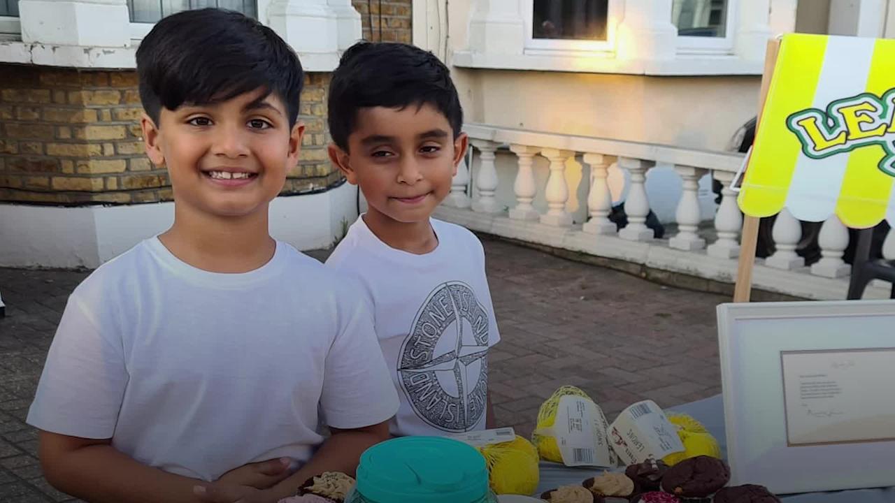 'LemonAid' boys aiming high after £100,000 charity campaign