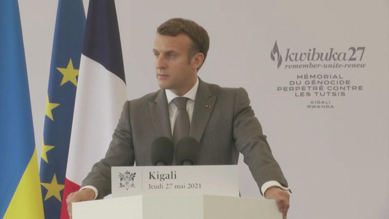 Macron recognises French 'responsibility' in Rwanda genocide