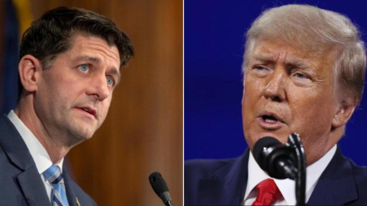 Paul Ryan slams 'horrifying' end of Trump's presidency