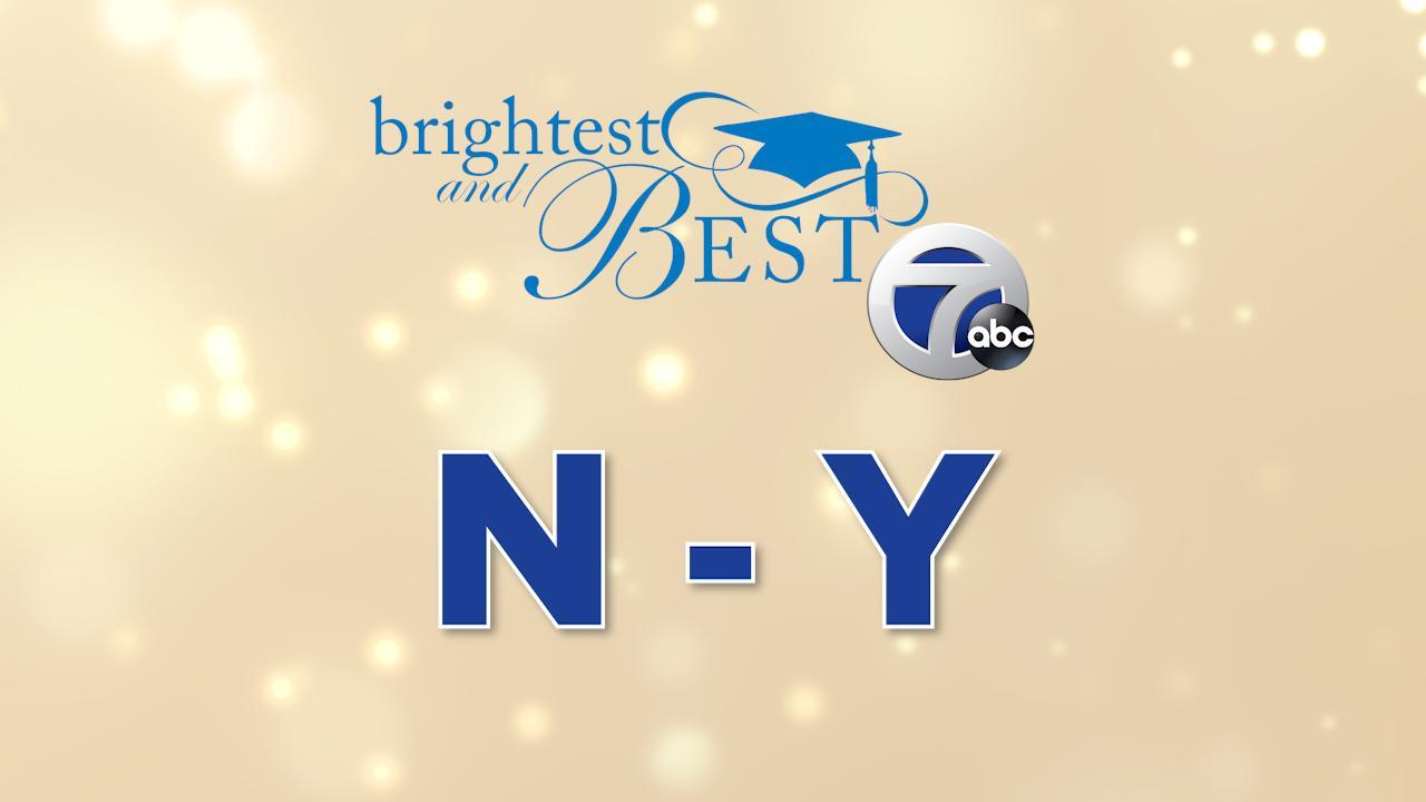 Meet the 2021 Brightest and Best – Last names N-Y