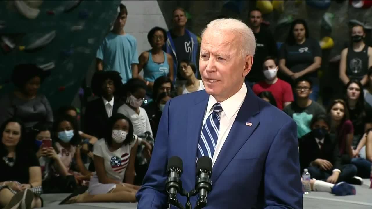 President Biden & Gov. Northam speak about Virginia's COVID-19 fight