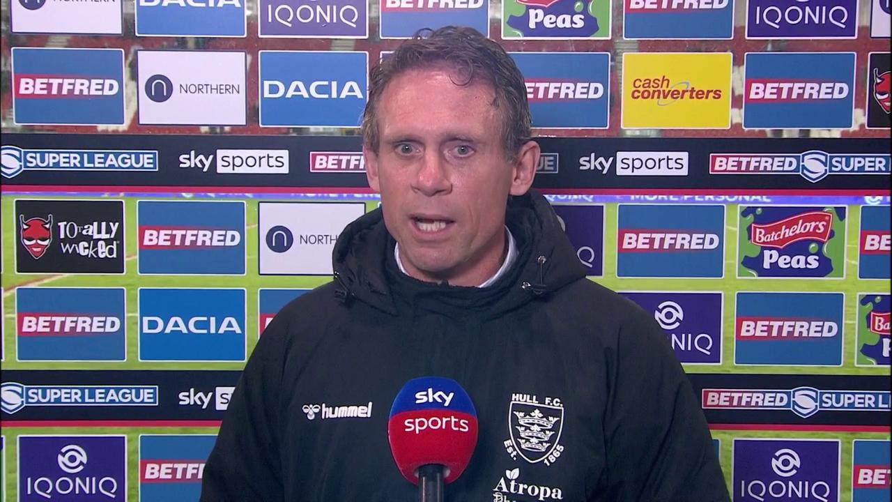 Hodgson: We weren't up for it