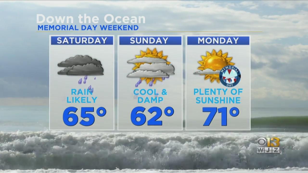 Rainy And Cool For Memorial Day Weekend