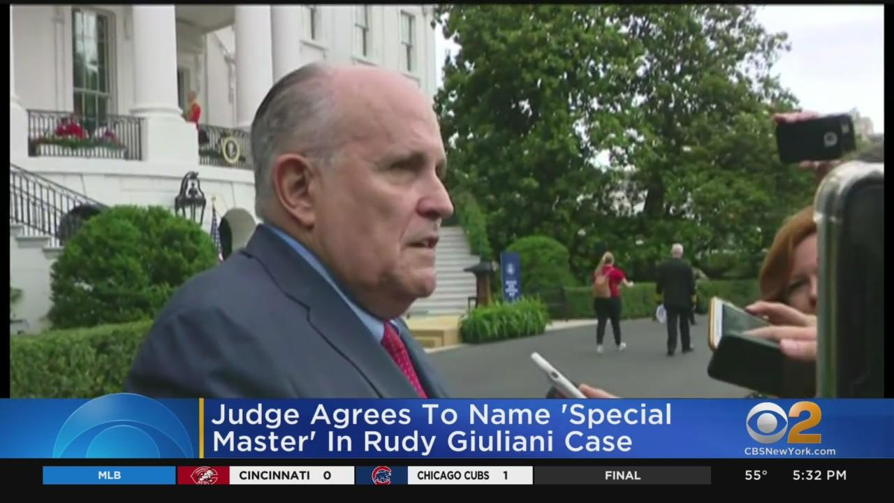 Judge Agrees To Name 'Special Master' In Rudy Giuliani Case