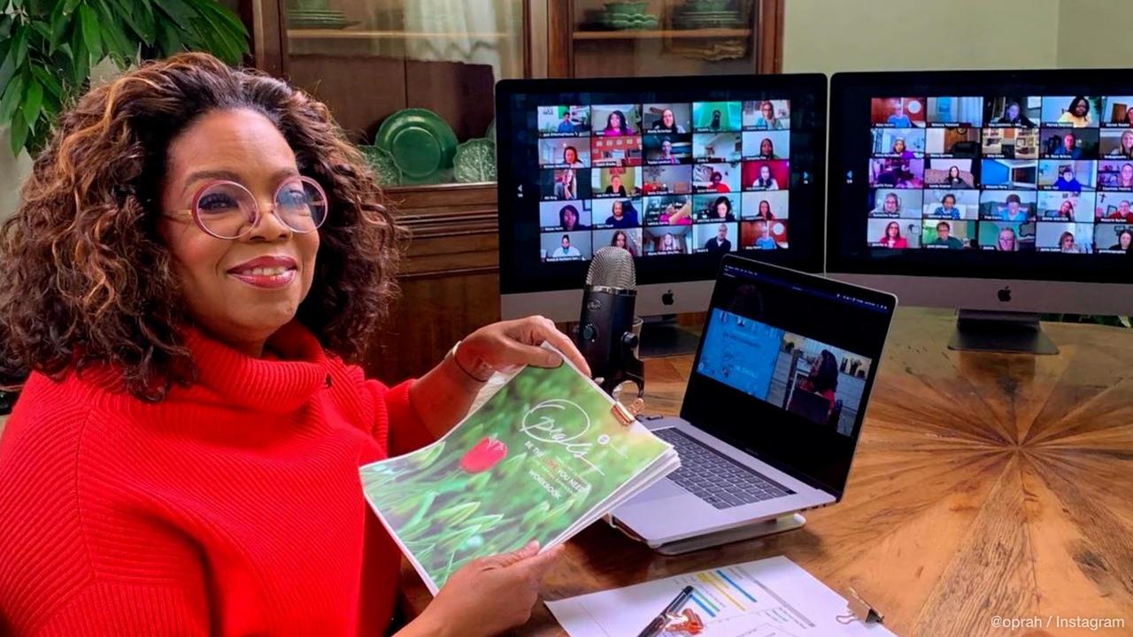 Oprah Winfrey défend bec et ongles Harry et Meghan