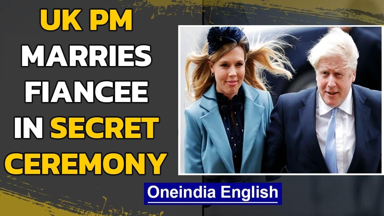 UK PM Boris Johnson marries fiancée Carrie Symonds in a secret ceremony | Oneindia News