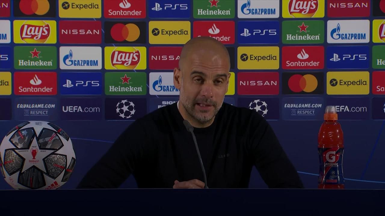 Pep Guardiola defends selections following Manchester City's Champions League loss