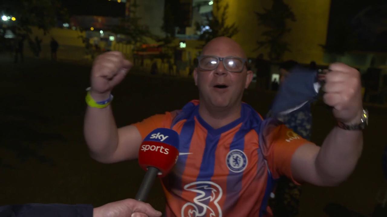 Chelsea fans' delight over CL final win
