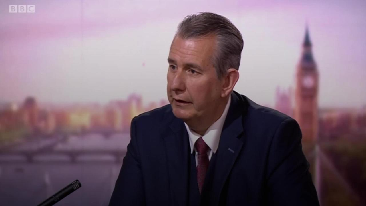 Edwin Poots: Northern Ireland being used as 'plaything' by EU