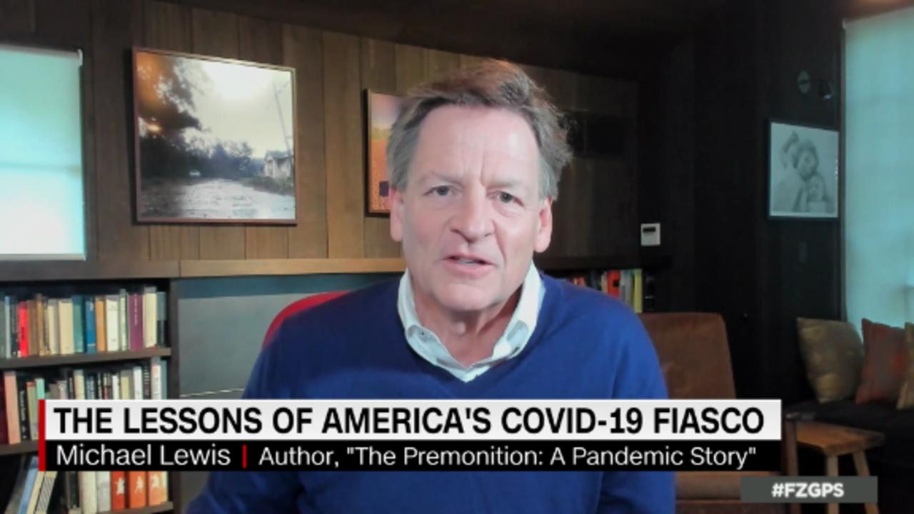 On GPS: Michael Lewis on the failed US Covid response
