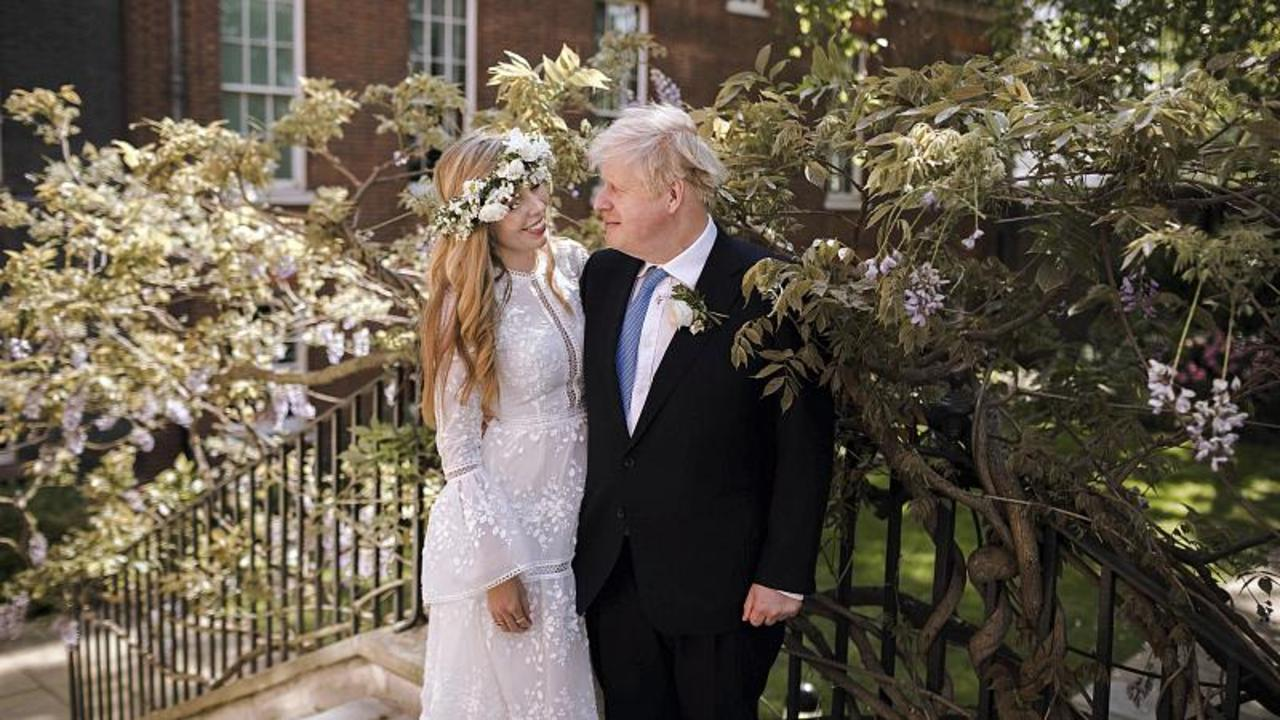 British Prime Minister Boris Johnson and Carrie Symonds wed in small ceremony