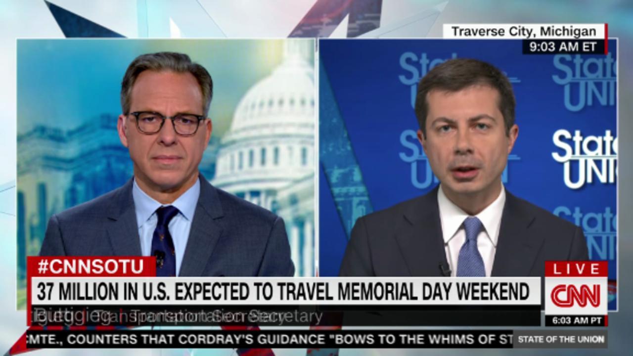 Buttigieg to Memorial Day travelers: 'Show respect'