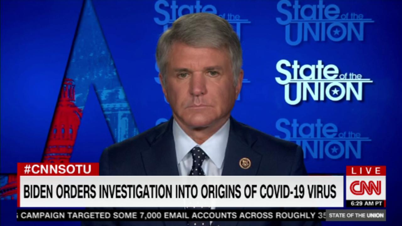 Key GOP lawmaker: Virus likely from accidental lab leak