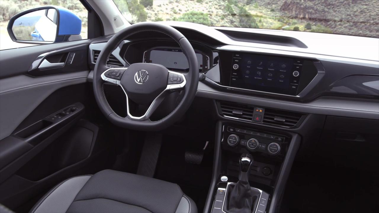 2022 Volkswagen Taos Interior Design