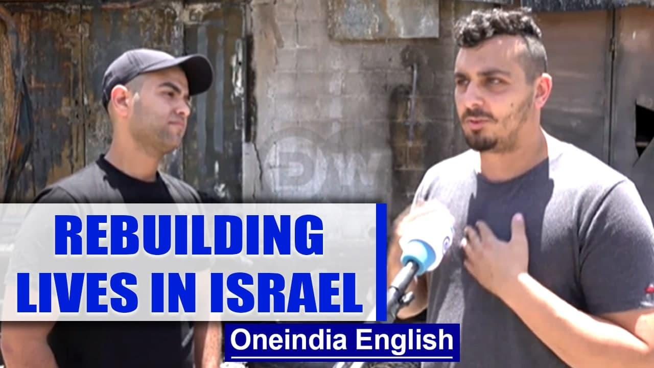 Israel's mixed cities torn by violence, 2 friends rebuild their lives | Oneindia News