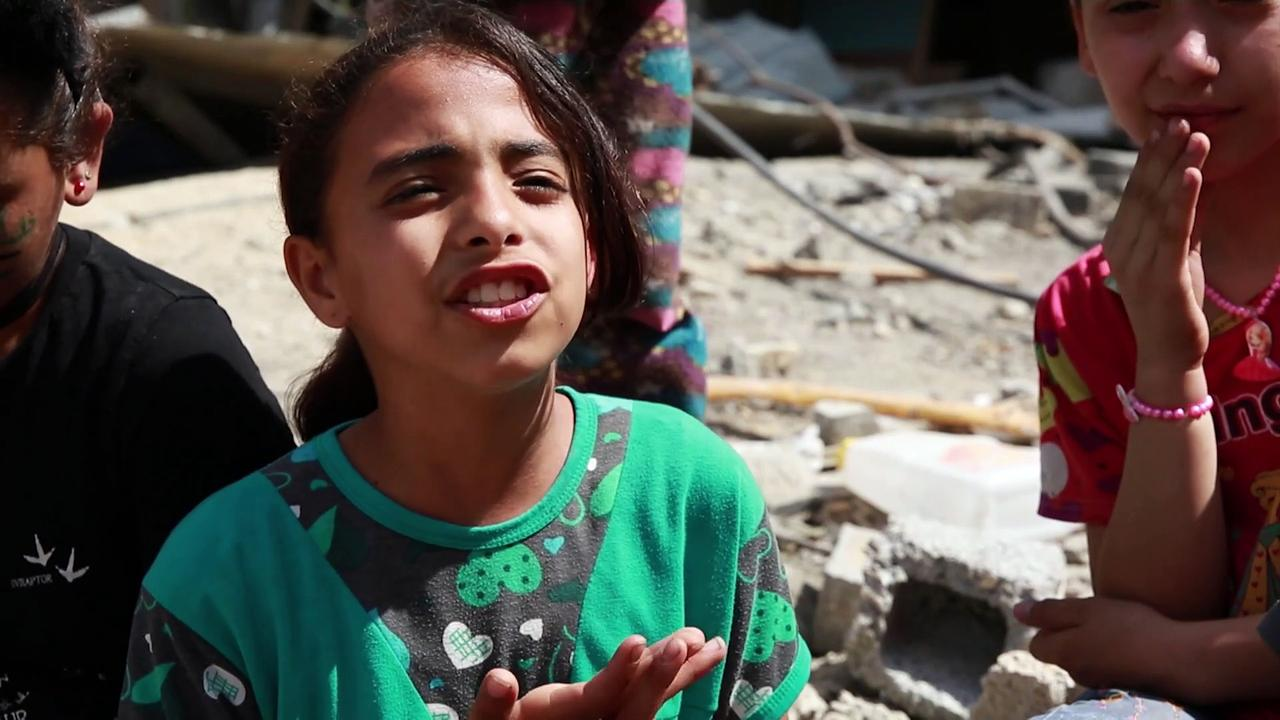 Children share their experiences of the recent Israel-Gaza violence
