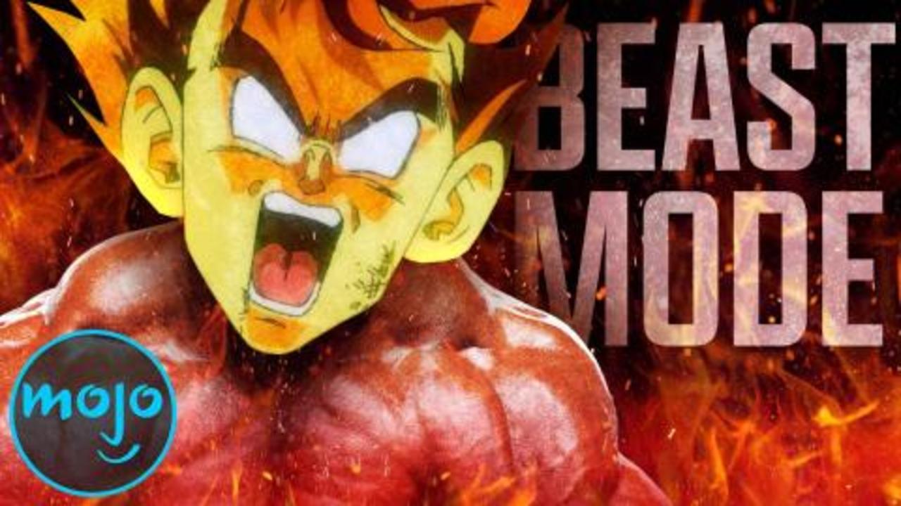 Top 10 Times Goku Went Beast Mode