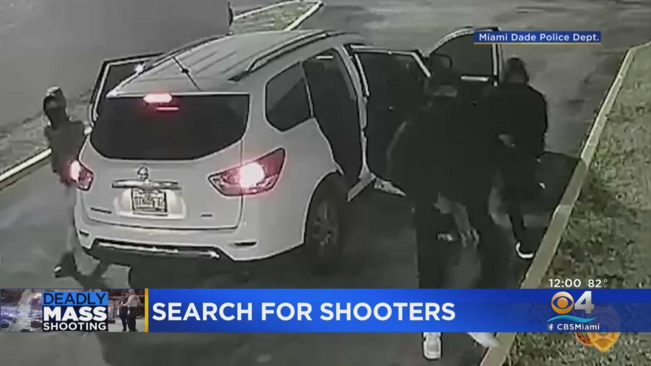 Miami-Dade Police Release Video Of Gunmen In Banquet Hall Shooting
