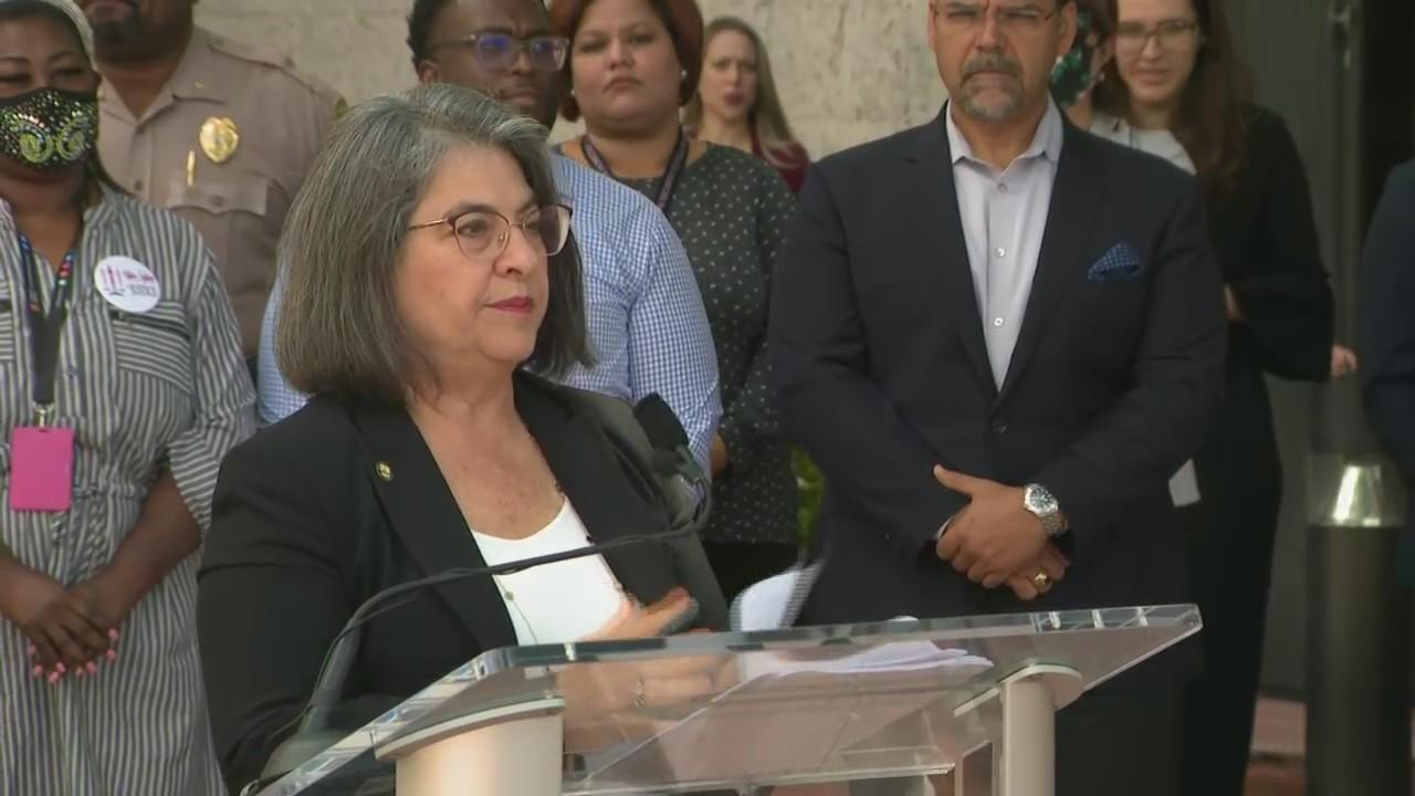 WEB EXTRA: Miami-Dade Mayor Daniella Levine Cava News Conference On Weekend Mass Shooting