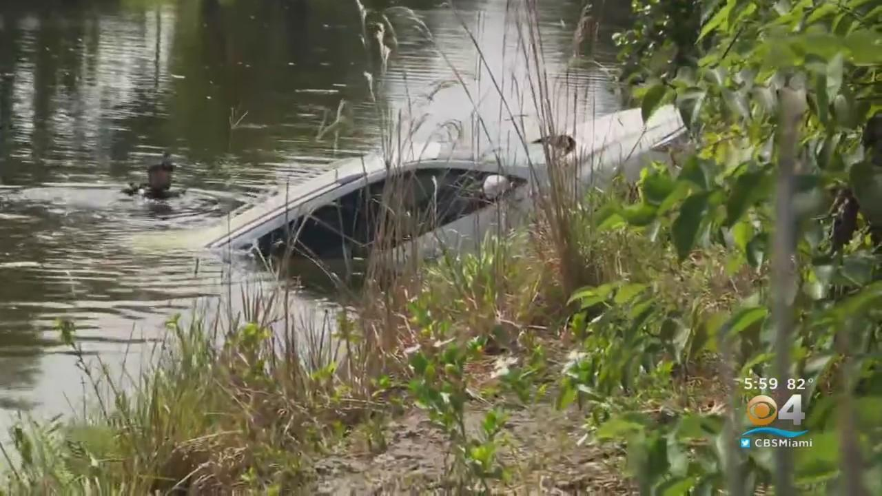 Stolen White SUV Found In Canal Believed To Be Getaway Vehicle Used By Gunmen In Banquet Hall Mass Shooting