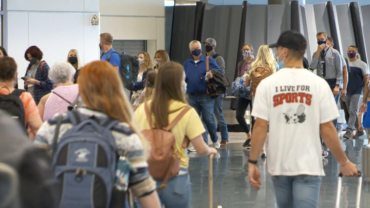 Travelers pack SLC Int'l Airport over Memorial Day Weekend