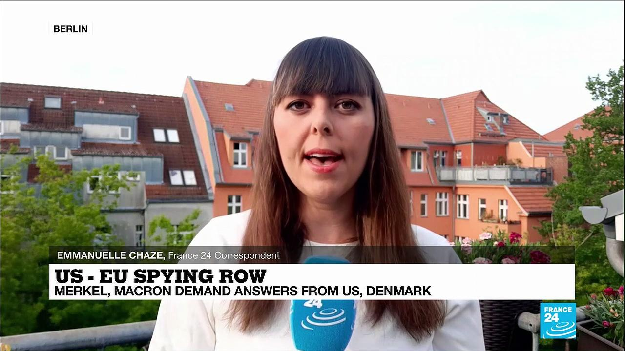 Germany is waiting explanations from the Danish government about spy allegations