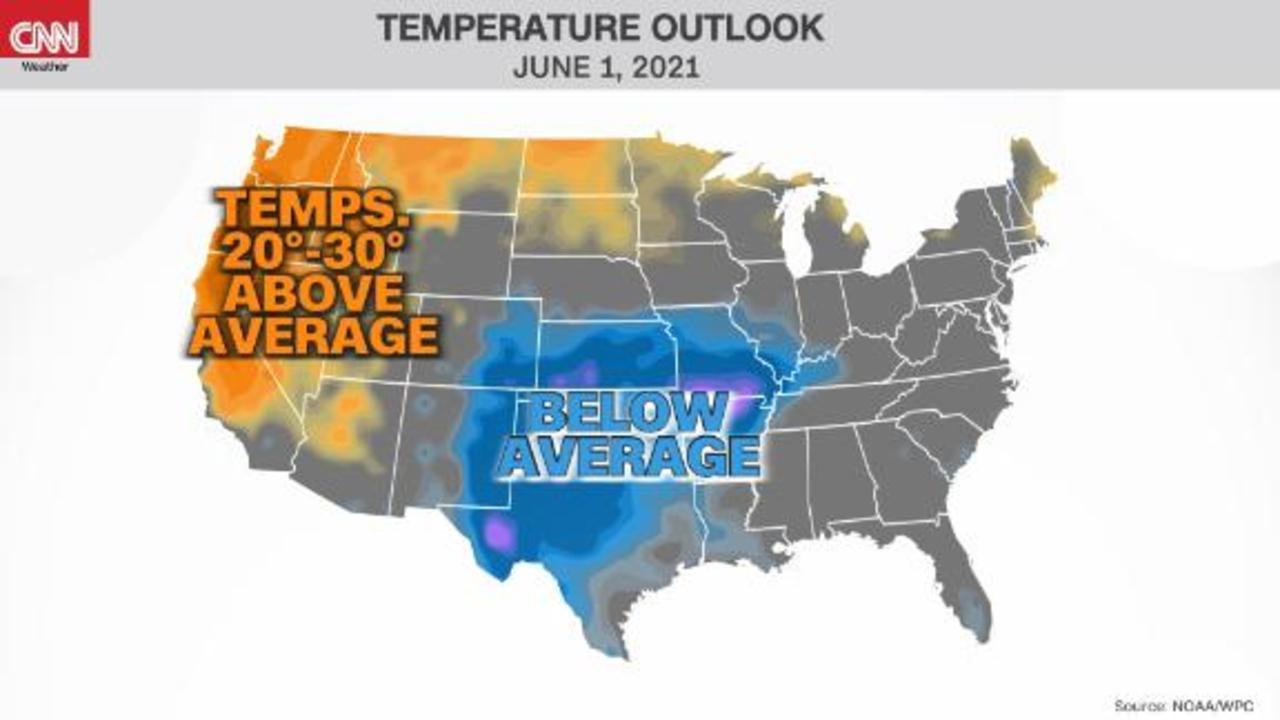 Dangerous heatwave breaking monthly records