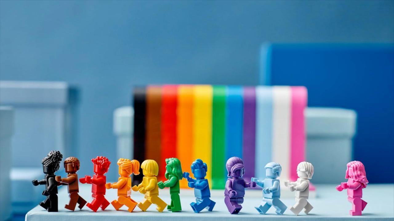 Ab dem 1. Juni erhältlich: Lego-Bausatz zum Pride Month