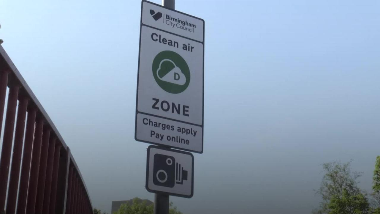 Charges for entering Birmingham's Clean Air Zone delayed by two weeks
