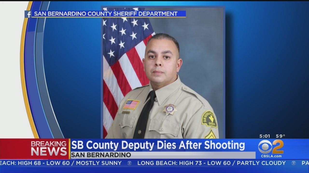 San Bernardino County Deputy Dominic Vaca Shot, Killed Following Pursuit In Yucca Valley; Suspect Also Killed