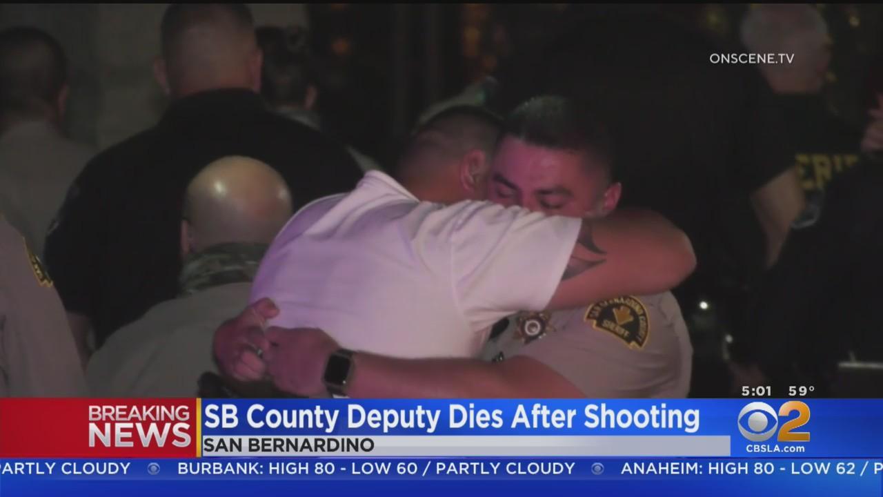 Procession Held For San Bernardino County Deputy Killed In Line Of Duty