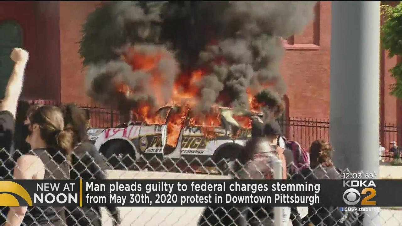 Man Pleads Guilty To Federal Charges Stemming From Downtown Pittsburgh Protest