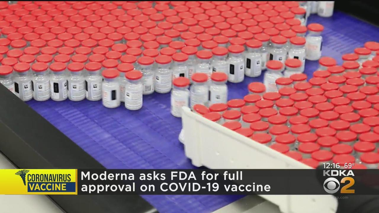 Moderna Asks FDA For Full Approval On COVID-19 Vaccine