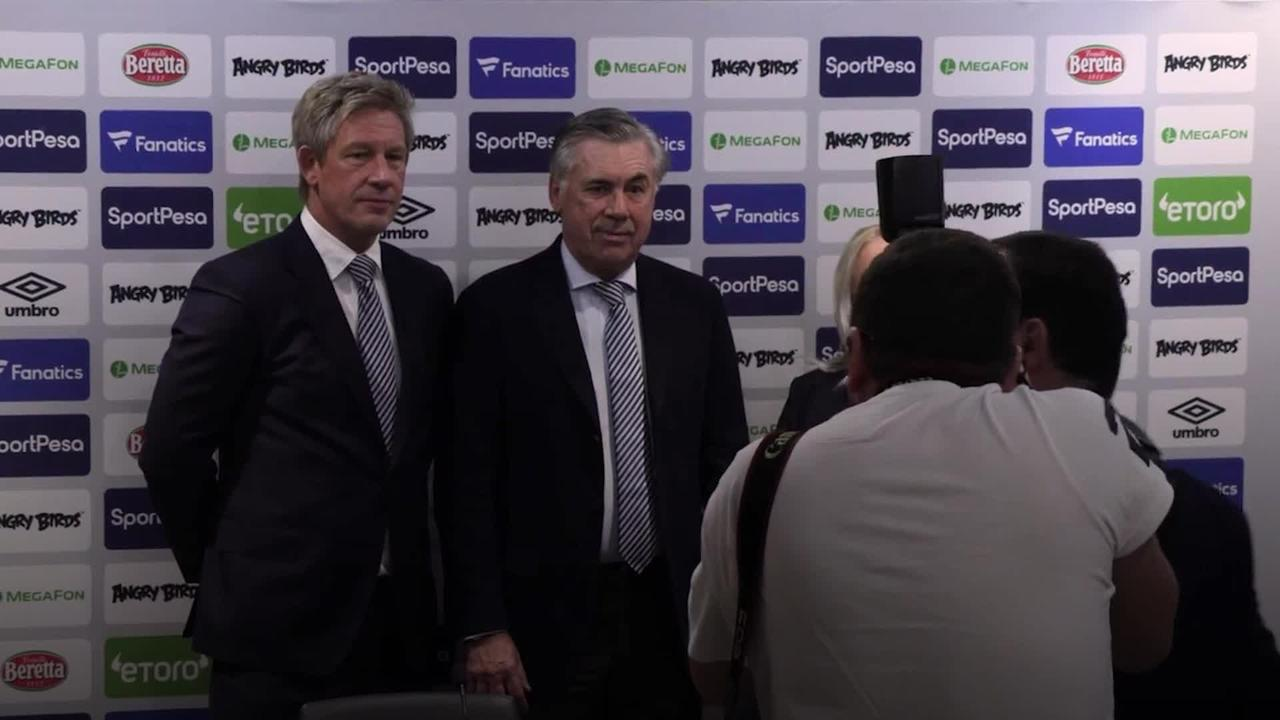 Carlo Ancelotti leaves Everton for Real Madrid