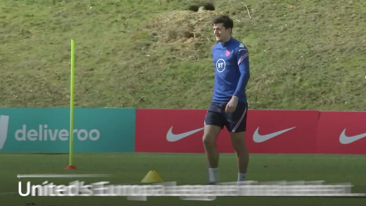 Harry Maguire faces 'tight' race for Euro 2020 opener