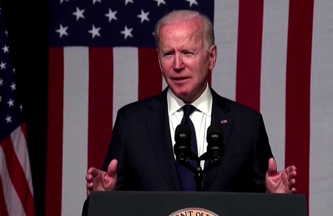 'This was a massacre' -Biden honors Tulsa victims