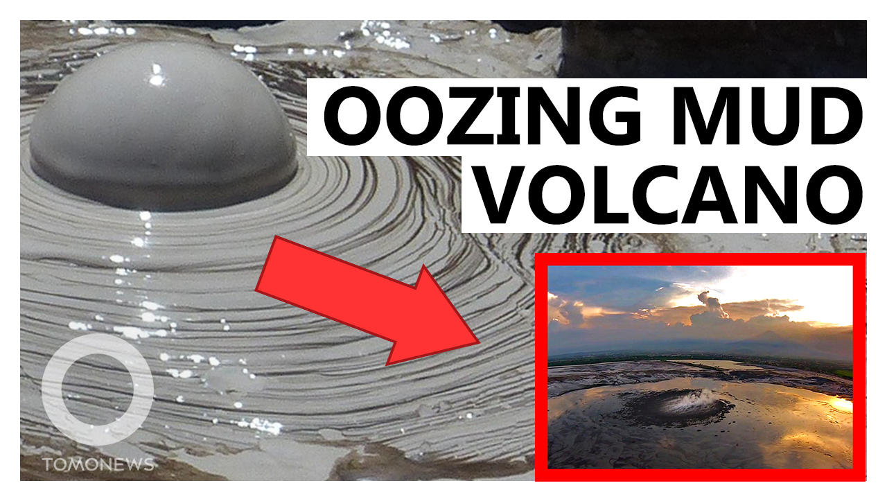 Mud Volcano Spews for 15 Years