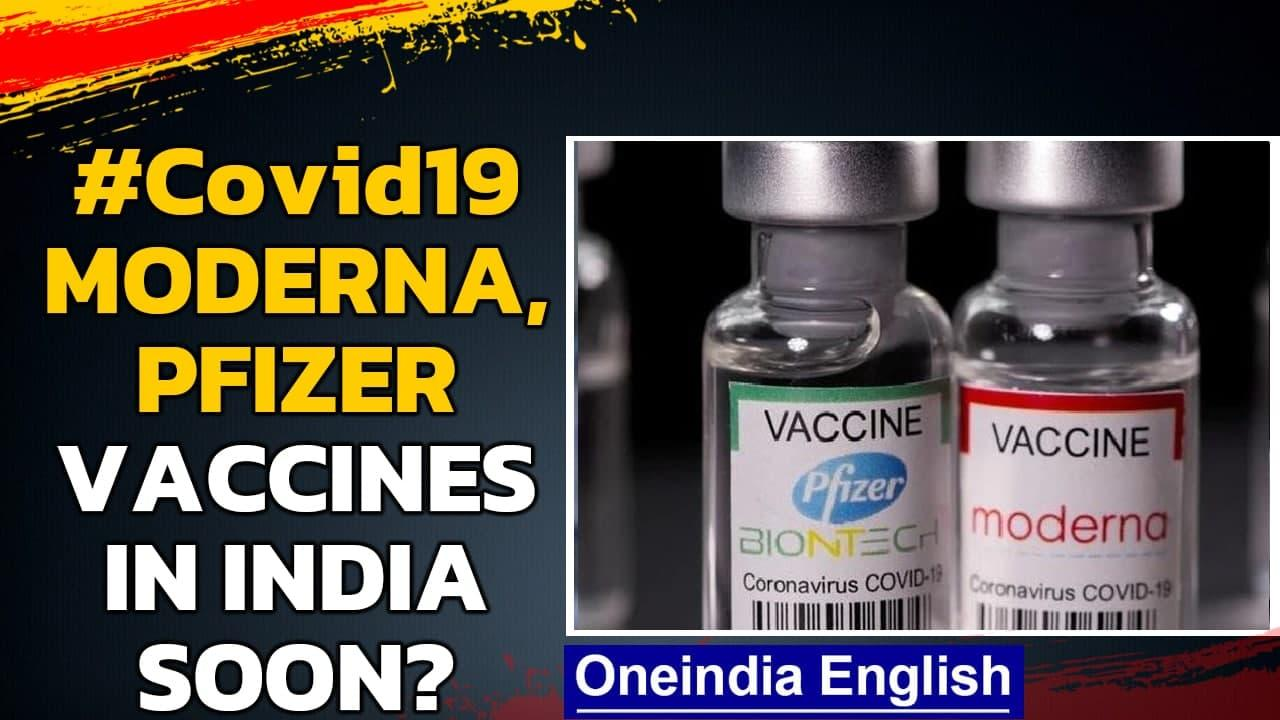 Pfizer and Moderna vaccines may arrive in India soon| DCGI paves the way | Oneindia News
