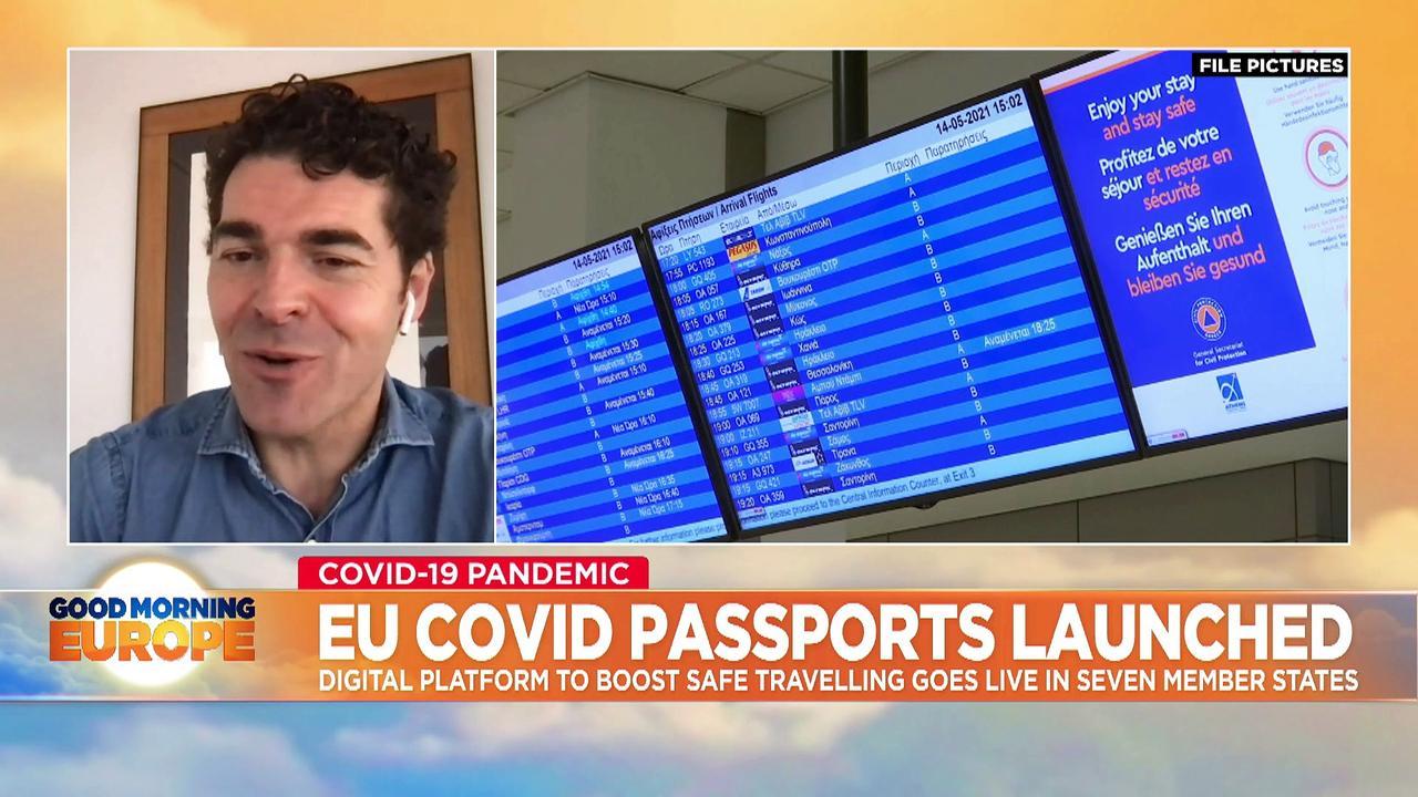 EU COVID-19 'digital pass': seven countries begin using new travel system