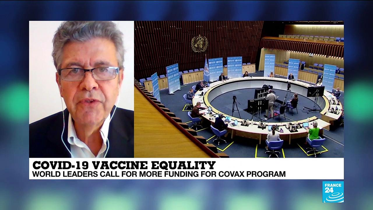 World leaders call for more funding for Covax program